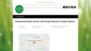 O'Toole's Garden Center | Lakewood