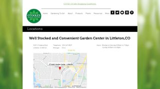 O'Toole's Garden Center | Littleton
