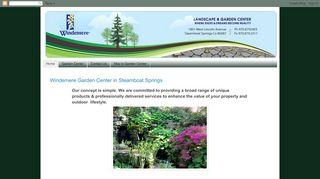 Windemere Garden Center