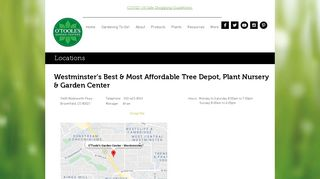 O'Toole's Garden Center | Westminster