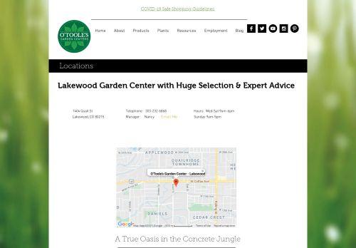 O'Toole's Garden Center | Lakewood