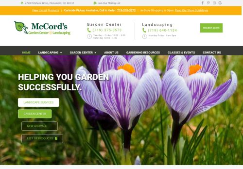 McCord's Garden Center and Landscaping
